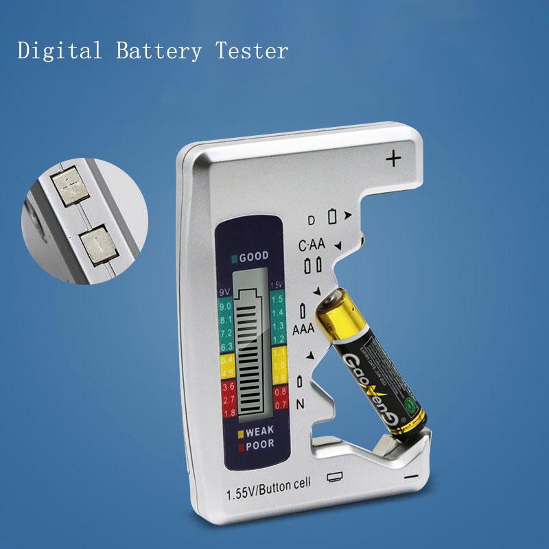 HK Digital testeur de batterie Volt Checker pour 9/V 1.5/V et piles AA AAA Cell Bt-168d par EB