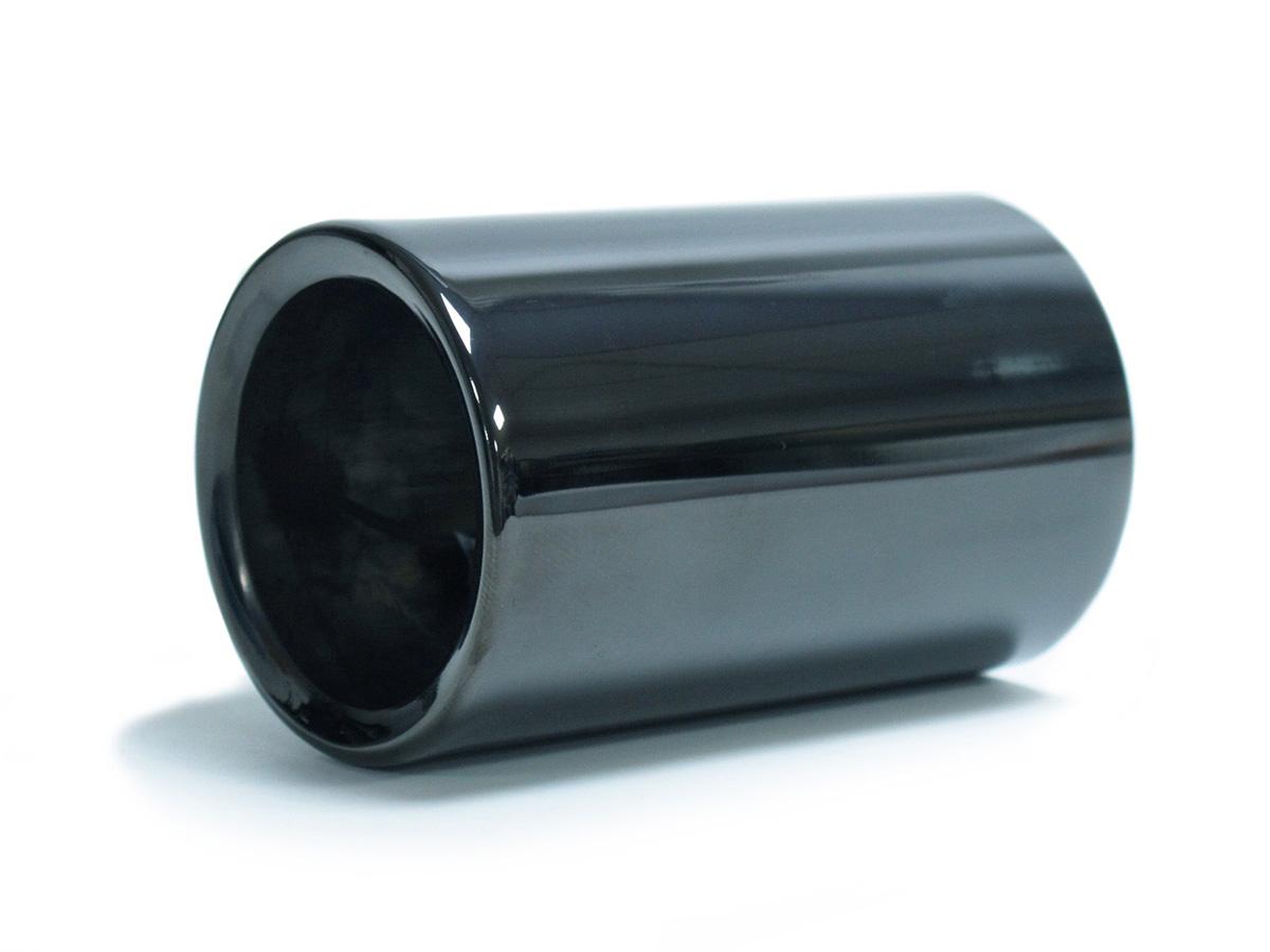 1x schwarzchrom auspuffblende endrohre f r bmw 3er f30 f31. Black Bedroom Furniture Sets. Home Design Ideas