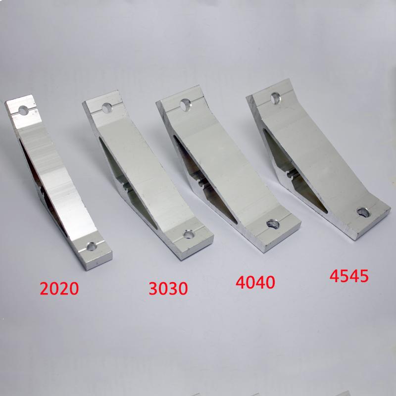 4040 Aluminum Corner Brackets Profile Corner Joint connectors Corner Braces 135 Degree Angle 2 Pieces