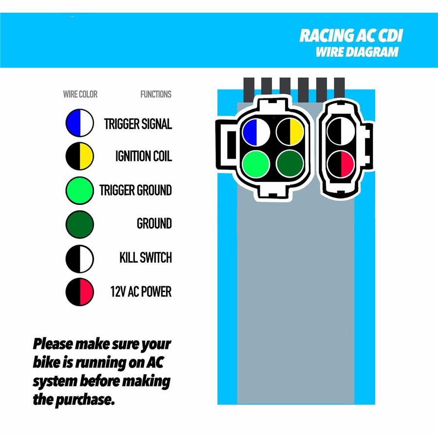 6 Pin Cdi Wiring Diagram | Wiring Schematic Diagram - 69 ... Qikmate Pin Cdi Wiring Diagram on