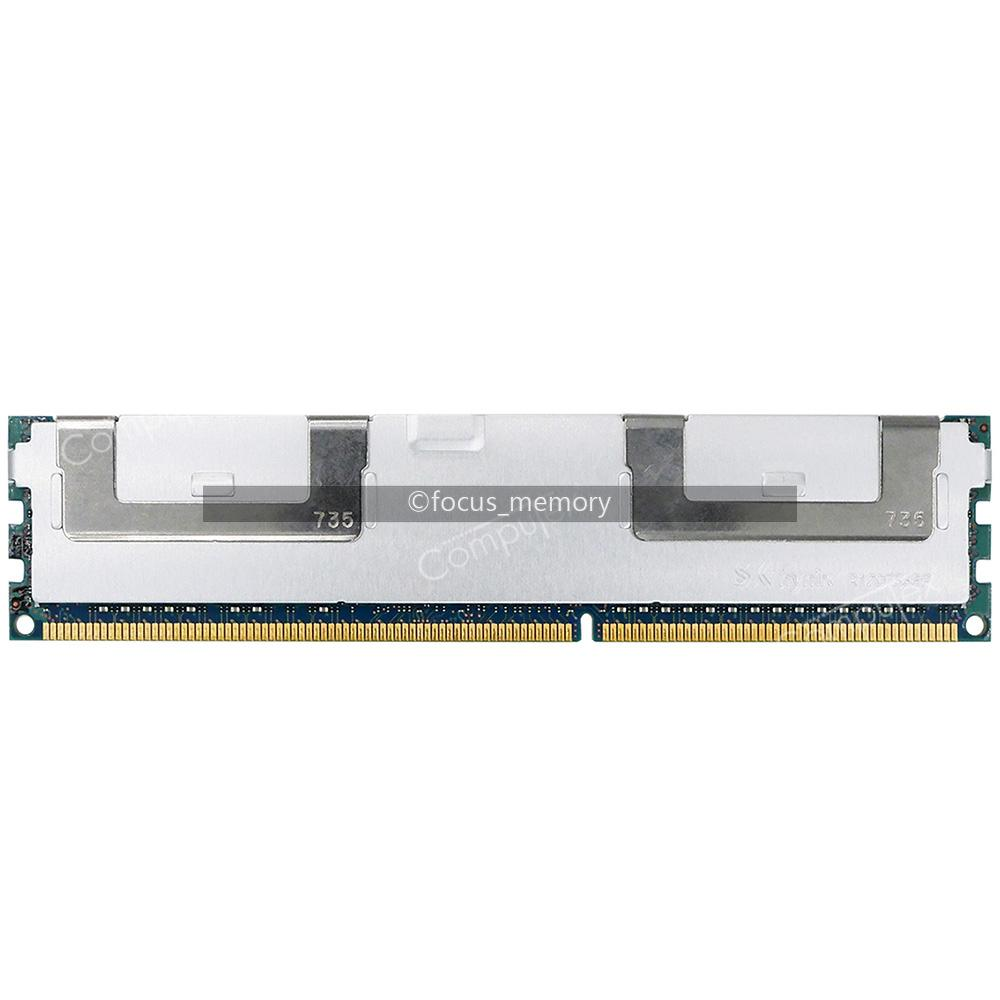 64GB 8RX4 PC3-12800L DDR3-1600MHz 1.5v ECC LRDIMM Memory For Dell PowerEdge R620