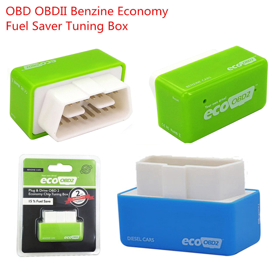Details about Eco OBD OBD2 Universal Economy Fuel Saver Tuning Box Chip For  Petrol Gas Saving