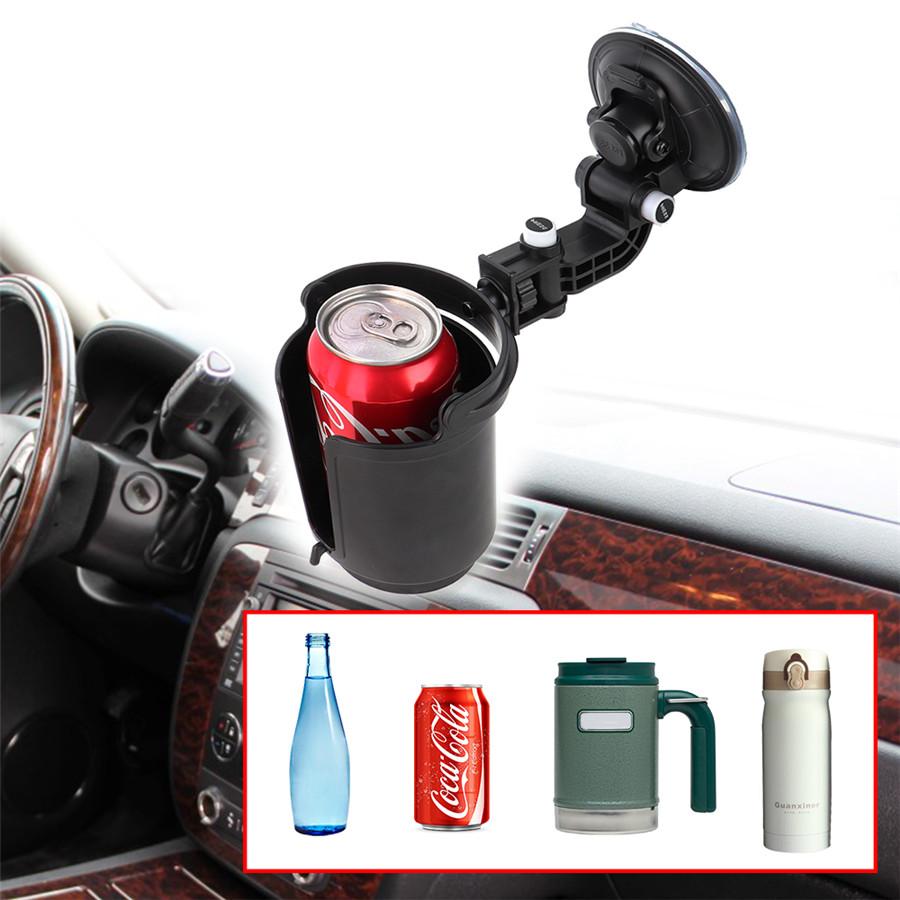 Adjustable Window Suction Cup Mount Drink Beverage Bottles Cup Holder Universal