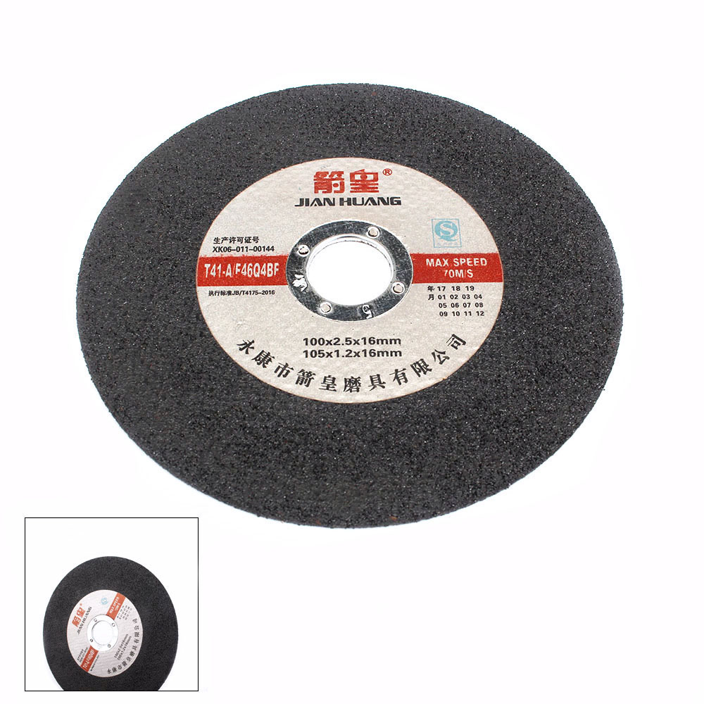 15Pcs 4 Inch Resin Cutting Wheel Grinding Disc For Cutting Metal Angle Grinder