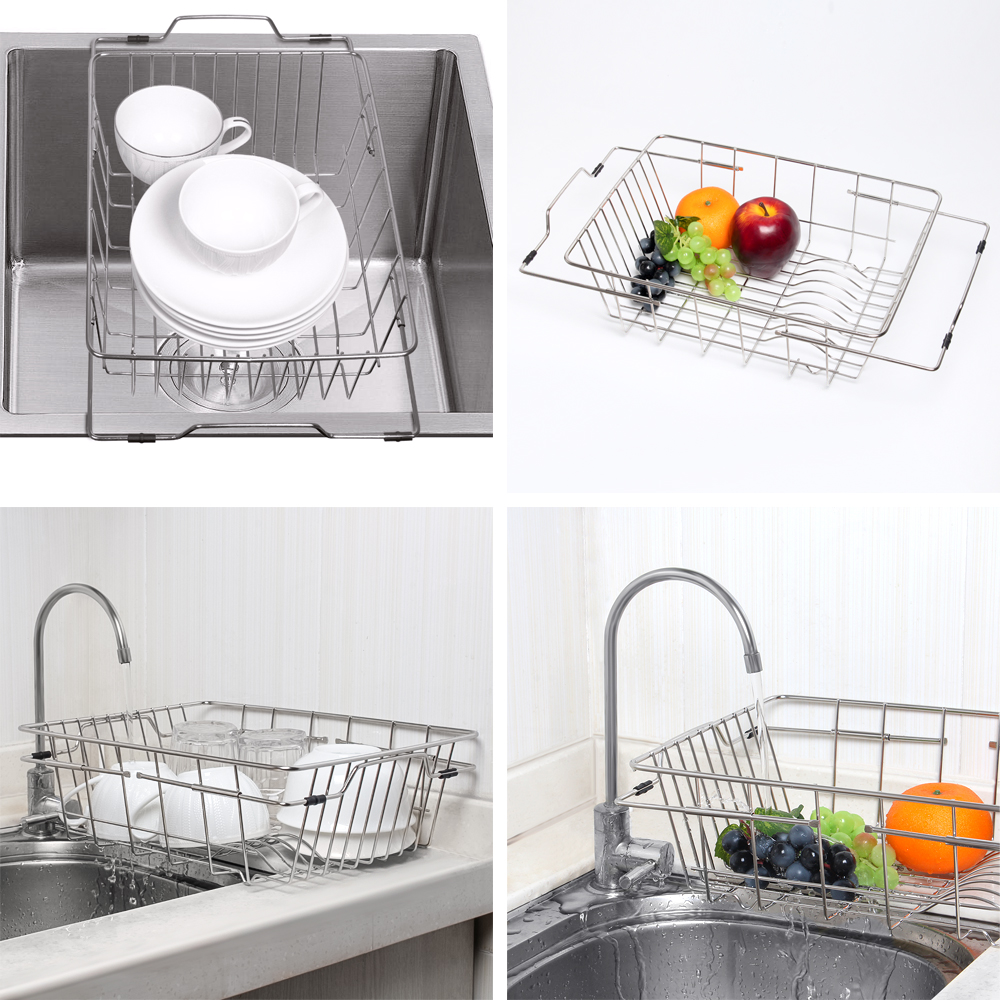 Kitchen Sink Drainer Rack Home