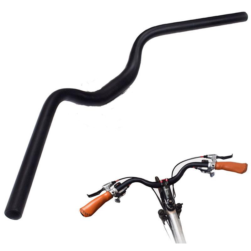 3K Carbon Fiber MTB Road Bike Bicycle Handlebar Flat Riser Bar 31.8*580-760mm