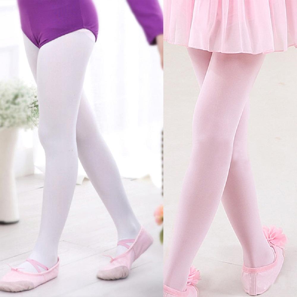 New Tights for Girls Ballet Leotards Toddler Dance Socks Footed Kids