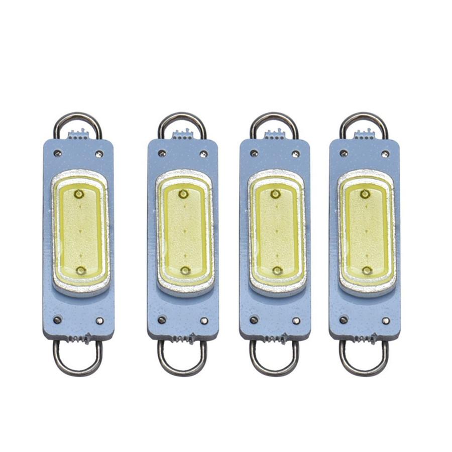 4 x Xenon White 44mm COB Rigid Loop Festoon LED Light Bulb 561 562 567 564 212-2