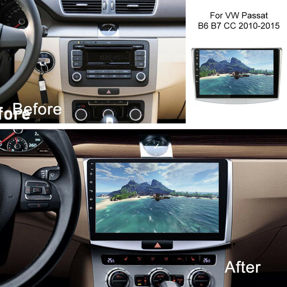 Android 10 1 Car Gps Navi Stereo Radio Wifi Bt Dvd Player