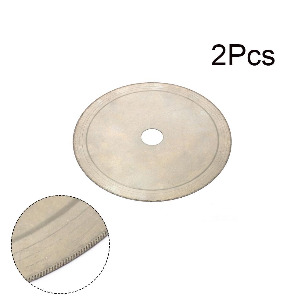 Gemstone Diamond Saw Blade Wood Diamond Glass Ultra Thin Lapidary Arbor Disc