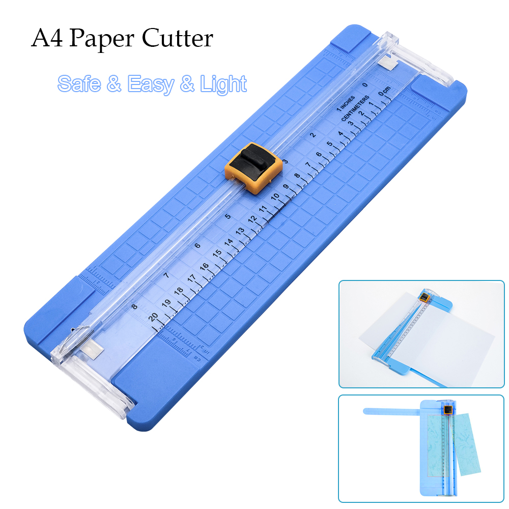 Details about A4 Precision Rotary Guillotine Paper Photo Trimmer Cutter  Ruler Craft Tool Light
