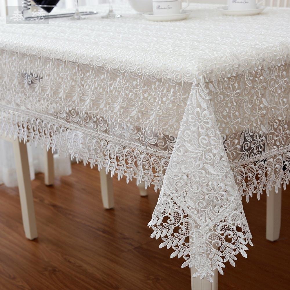 hochzeit wei tischdecke tischtuch top qualit t spitze ebay. Black Bedroom Furniture Sets. Home Design Ideas