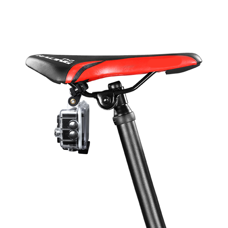 Befestigung Fahrrad Kamera Halterung Für GOPRO Hero Sitz Sattel Schwarz