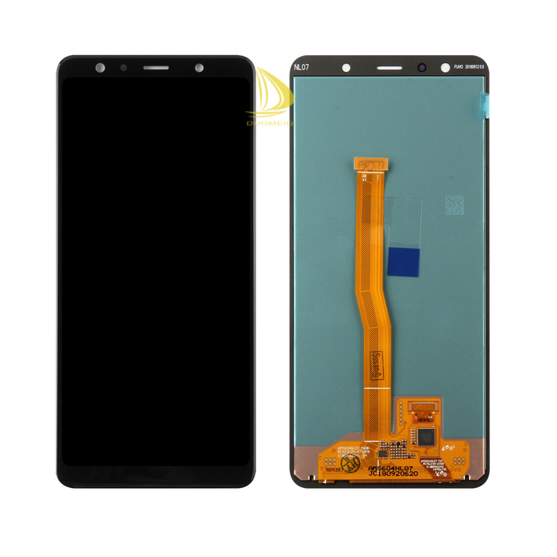2018 A750G A750FN//DS A750F//DS YANGJ Phone LCD Screen Incell LCD Screen and Digitizer Full Assembly for Galaxy A7 Color : Black Black