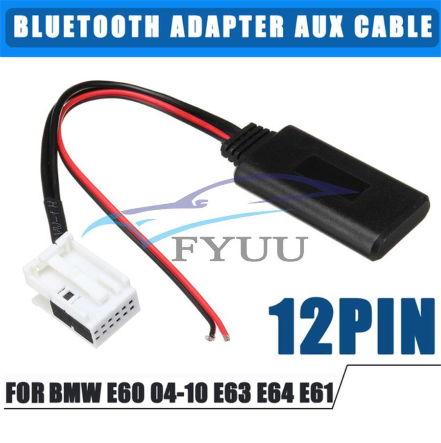 Bluetooth Adapter Aux In Kabel für BMW E60 E61 E63 mit Klinkekabel