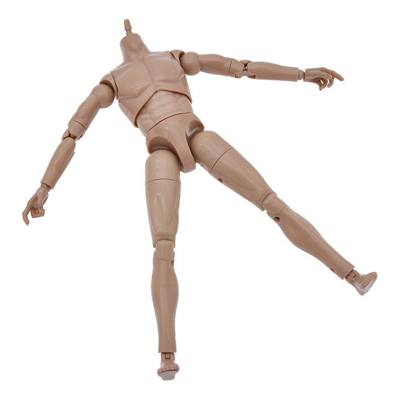 Custom 1/6 Nude Action figure Body-Narrow Shoulder with