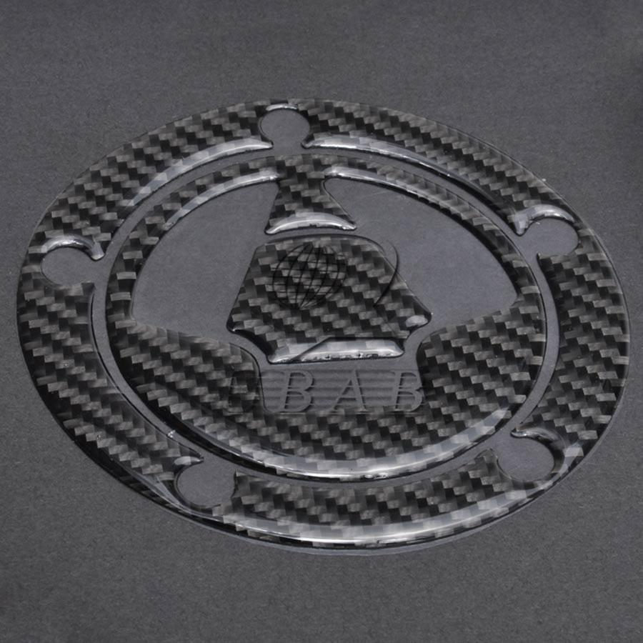 1 x Carbon Fiber Fuel Gas Tank Cap Sticker Decal for Kawasaki Ninja ZX10R//ZX14