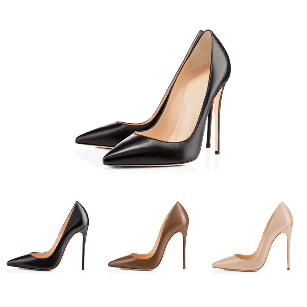 08cd03320d6 Details about Onlymaker Sexy Women's Pointed Toe High Heel Slip On Stiletto  Pumps Large Size