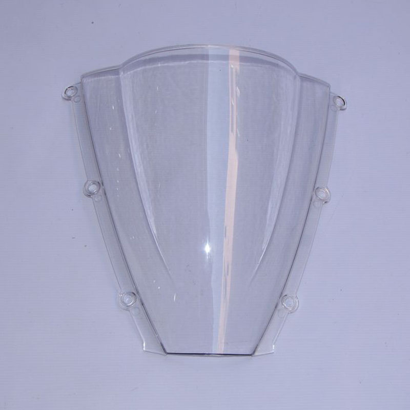 For 2003-2004 Honda CBR600RR F5 Motorcycle Windshield Clear Screen Double bubble