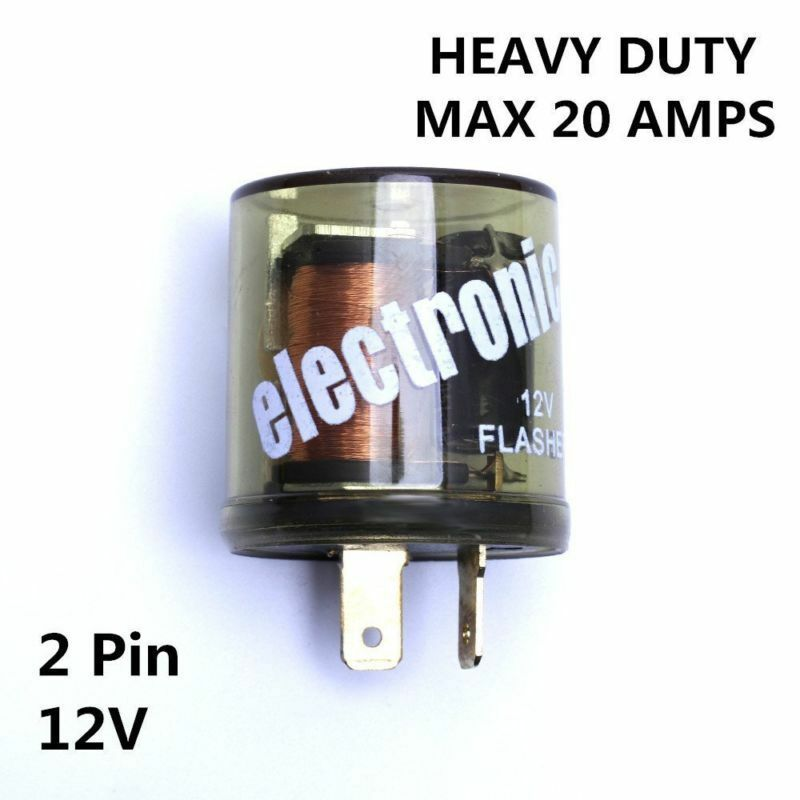 12v-20a Electronic Turn Signal Flasher Blinker Relay