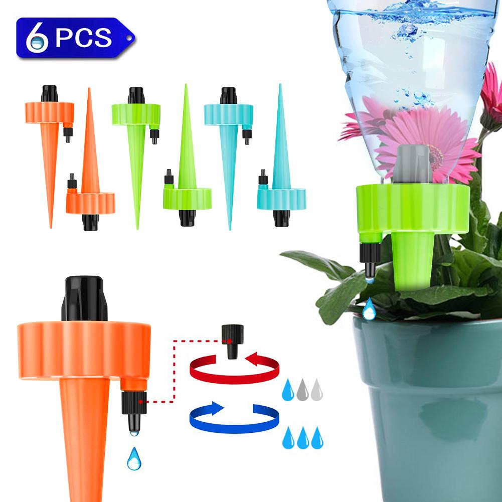 Haus Automatisch Bewässerungssystem Trixes Spikes Garten Bewässern Pflanze O6X0
