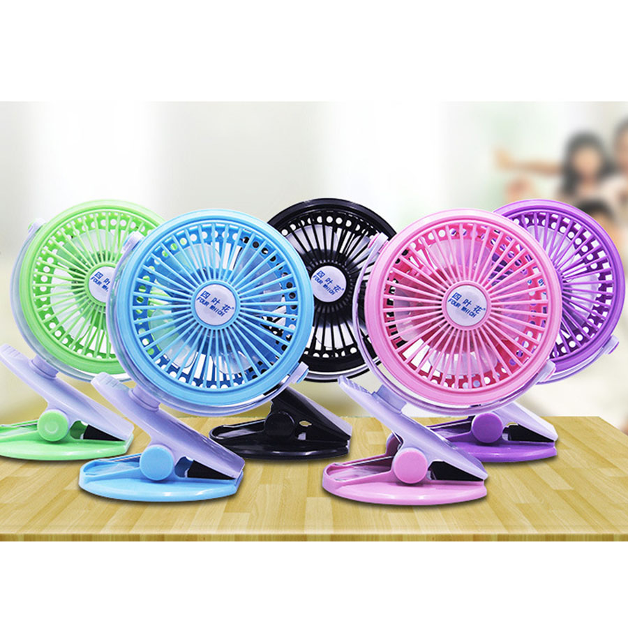 Mini Clip Fan Desk Portable Hand Held Personal For Baby Stroller Car Laptop Study Table Gym Workout Camping Outdoors Home Office
