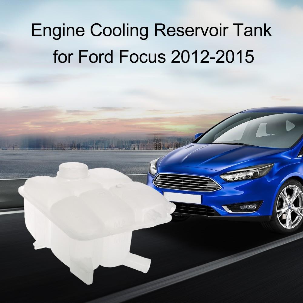 antifreeze reservoir engine cooling tank fluid overflow bottle for ford focus ebay. Black Bedroom Furniture Sets. Home Design Ideas