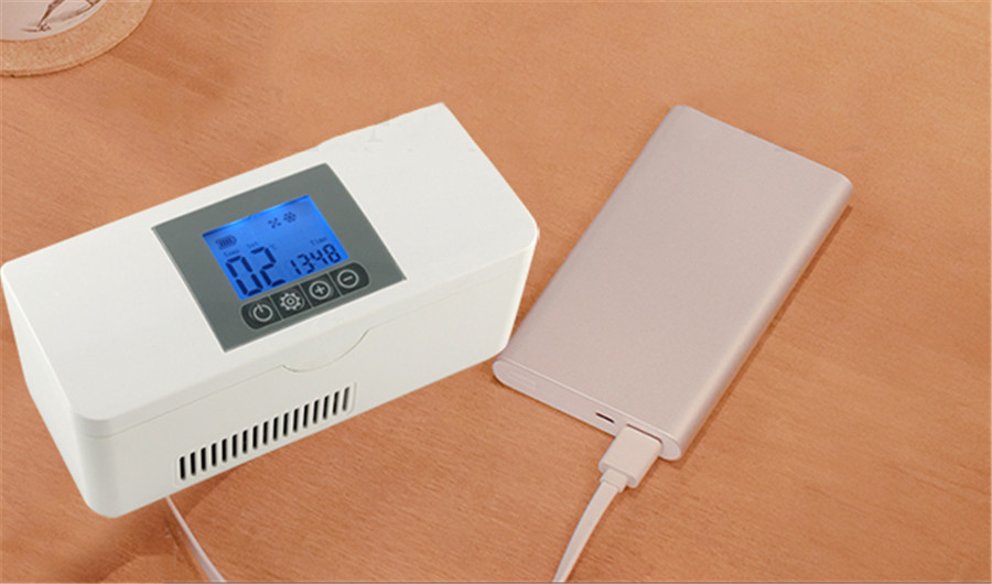Mini Kühlschrank Insulin : Tragbares auto reise usb aufgeladen kühlschrank droge insulin