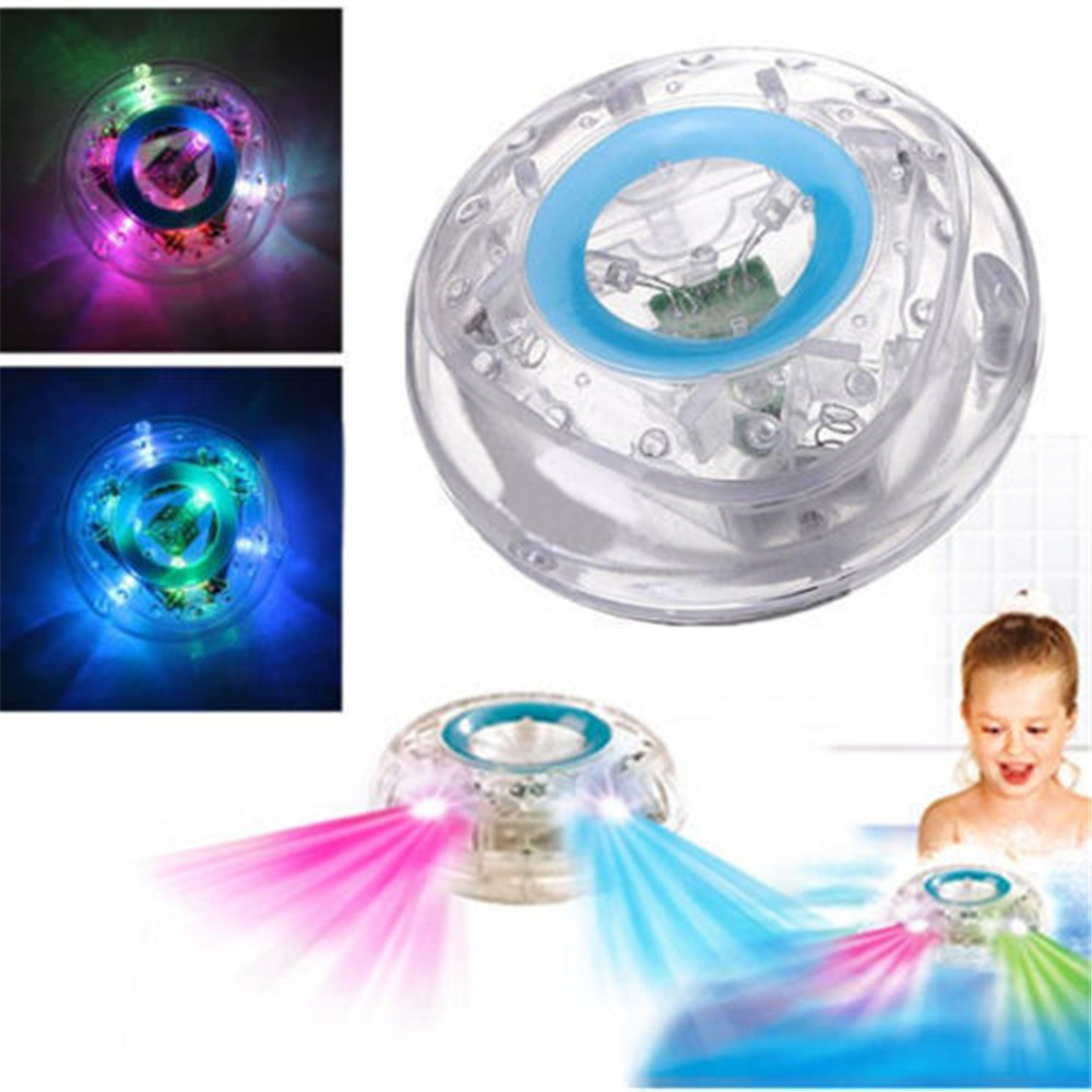 PARTY IN THE TUB TOY BATH WATER LED LIGHT KIDS WATERPROOF CHILDREN ...
