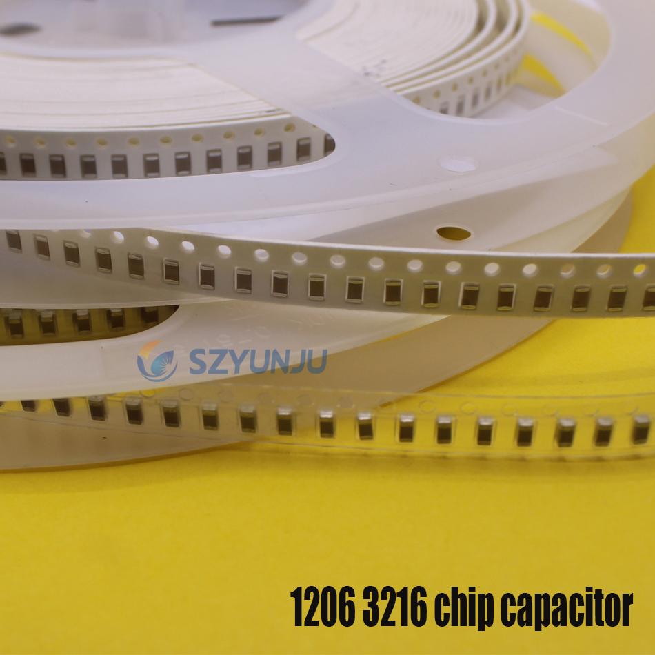 0805 2012 X7R X5R SMD MLCC chip capacitor 33pF 100PF 100nF  1uF 2.2uF 10uF