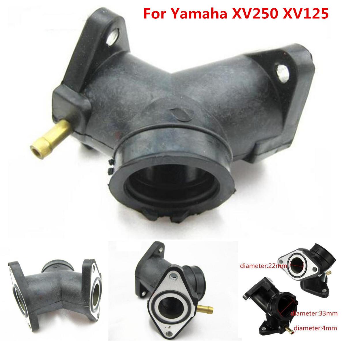 Intake Carburetor Interface For Yamaha Virago XV125 Glue Joint Boot