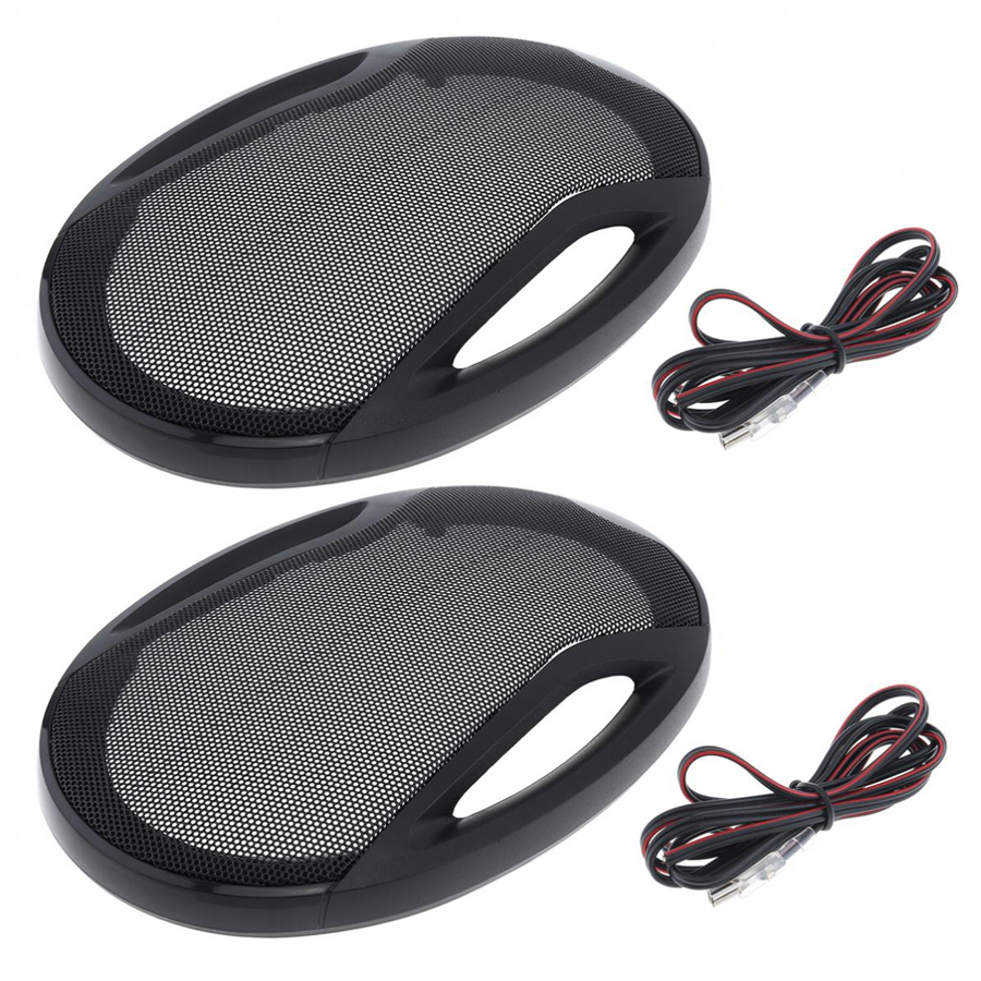 HIFI-level Experience Stereo Stage Board Effect Moisture-proof 1 Pair 6x9 Inch 1000W 3 Way Car Coaxial Speaker Hifi Audio Music Stereo Full Range High Sensitivity High Degree of Sound Reduction