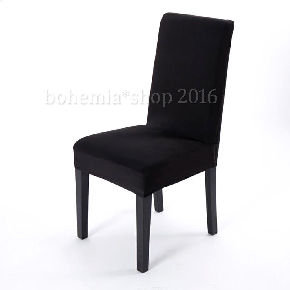 2 6x universal stuhl berzug stuhlhussen stretch stuhlbezug. Black Bedroom Furniture Sets. Home Design Ideas