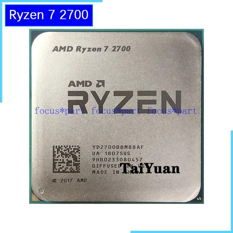 Amd Ryzen 7 2700 8 Core 3 2 Ghz 4 1 Ghz Max Socket Am4 65w Desktop Processor Ebay