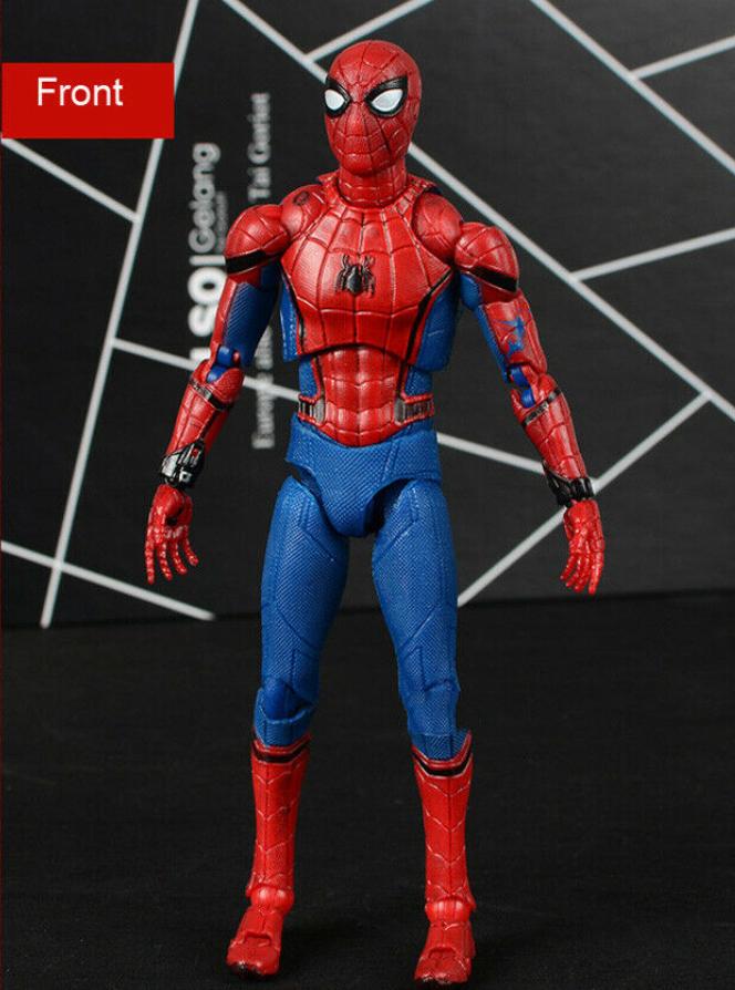 "SPIDER-MAN /""RITORNO A CASA/"" MOVIE 12/"" Action Figure Gift Set IRON MAN MARVEL Comics"