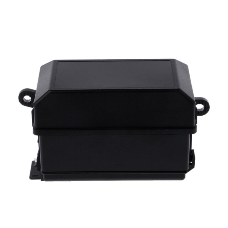 1 Set Durable Auto Car Truck Fuse Box 6 Relay Block Holders 5 Road Product Namefuse Materialplastic Metal Colorblack Size73mmx123mmx94mm Interchange Part Numberautomotive Holder