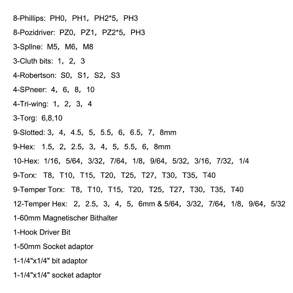 1//4 2 x Magnetischer Bithalter für Bits 6,3