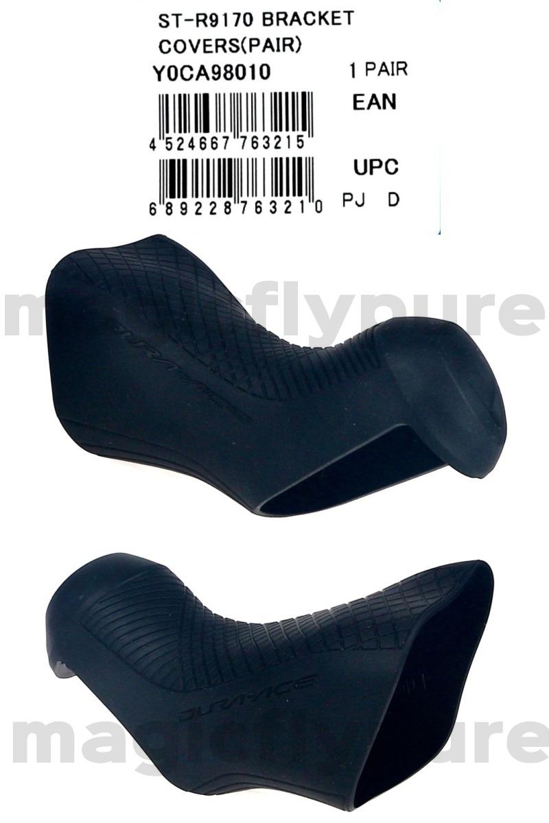Shimano Dura-Ace ST-R9170 STI Lever Bracket Covers Pair// Hoods NIB Y0CA98010