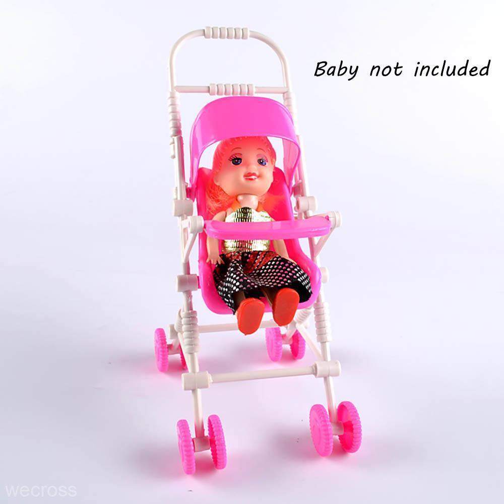 Dollhouse Nursery Furniture Toy DIY Baby Buggy Stroller ...