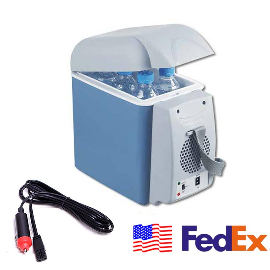 Details about Mini 7 5L Cooler Cube Fridge Car Travel 12V Refrigerator  Freezer Truck w/ Plug