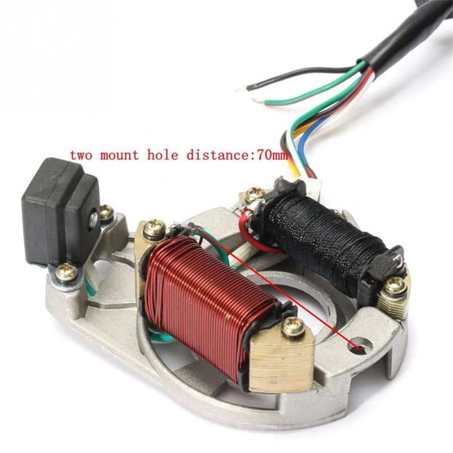 One Set Electric ATV CDI Wire Harness Stator Wiring Kit ...
