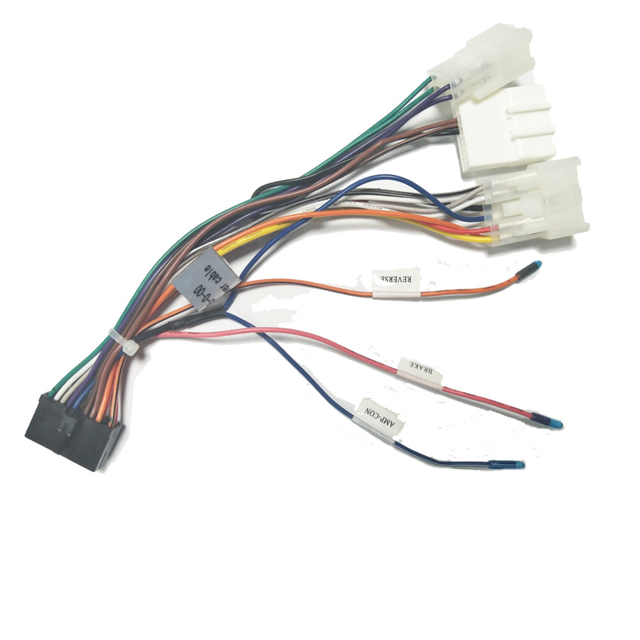 details about for toyota android dvd gps multimedia 20 pin wiring harness connector adapter Wire Harness Connectors OEM
