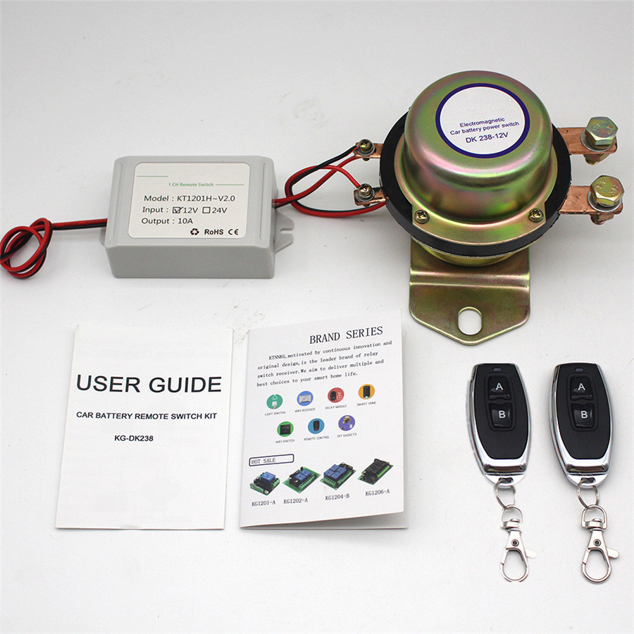 Car Remote Control Battery Switch 12v battery switch,12v remote control remote battery terminal,remote control relay,car battery switch battery disconnect switch