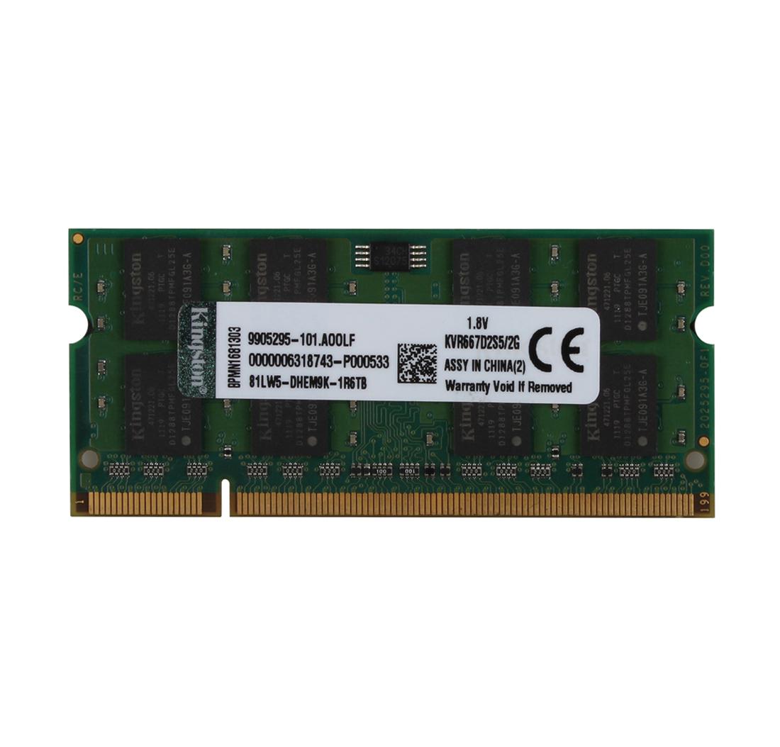 New 2GB 2Rx8 PC2-5300 DDR2 667Mhz So-Dimm 200pin Non-ECC Laptop Memory Ram