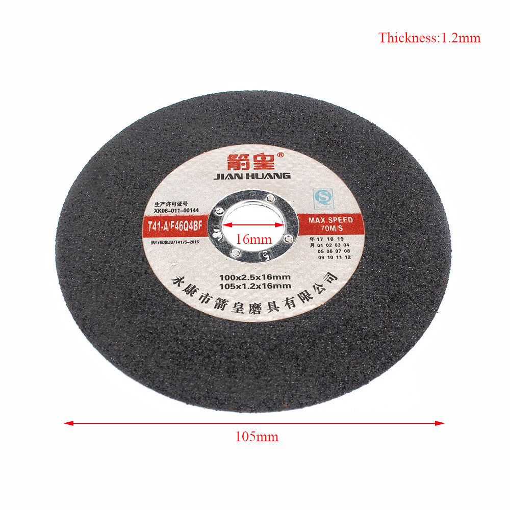 """10Pc 4/""""Resin Cutting Wheel Grinding Disc Angle Grinder F Cutting Stainless Steel"""