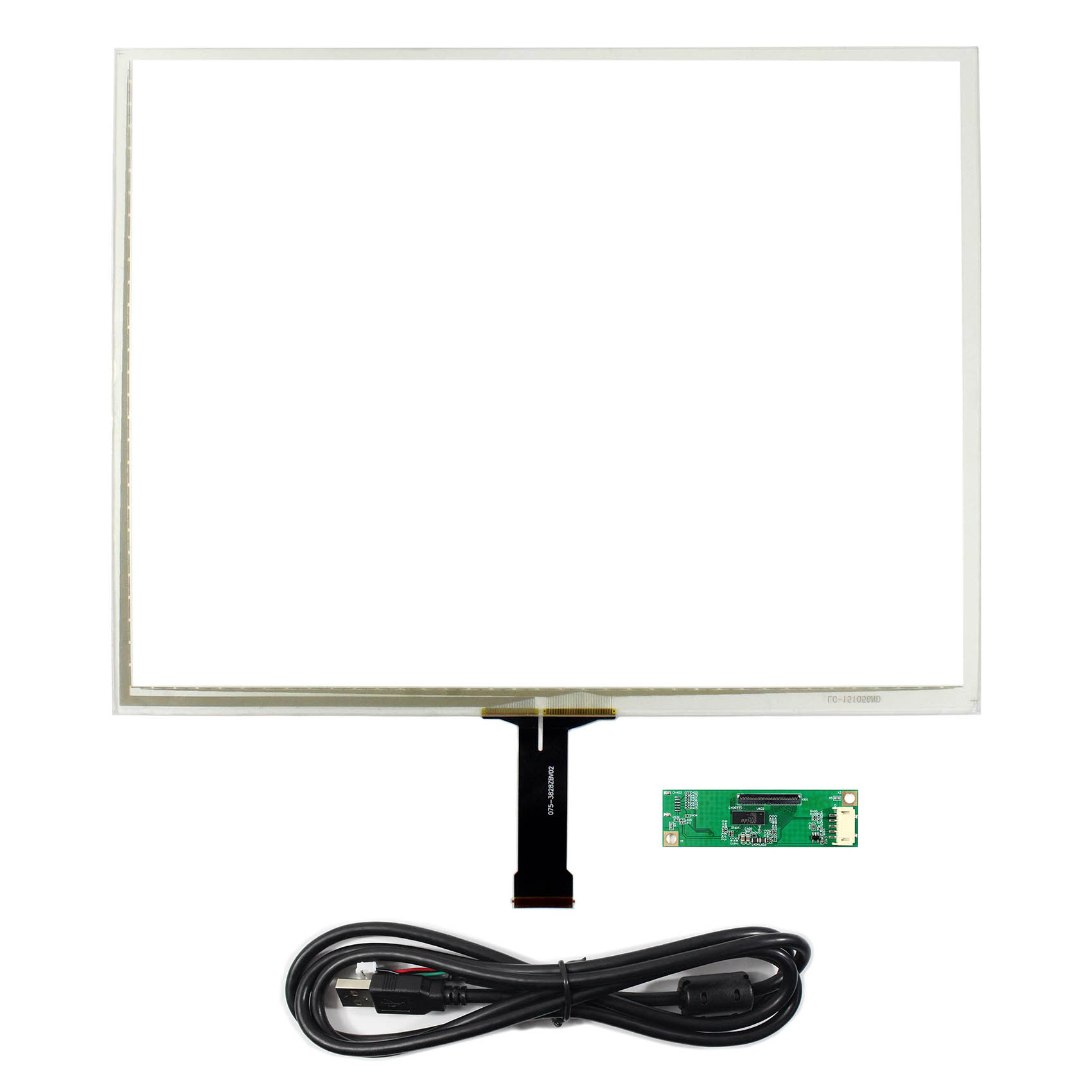 "15/"" 5 wire Resistive Touch Screen for 15/"" 1024x768 1400x1050 LCD Screen"
