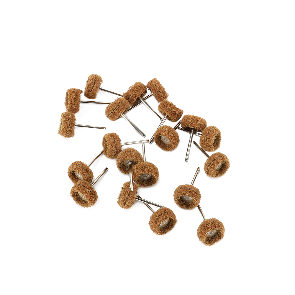 38mm 150 Grit Abrasive Wheel Buffing Polishing Wheel Brush Set Rotary Tool 30Pcs