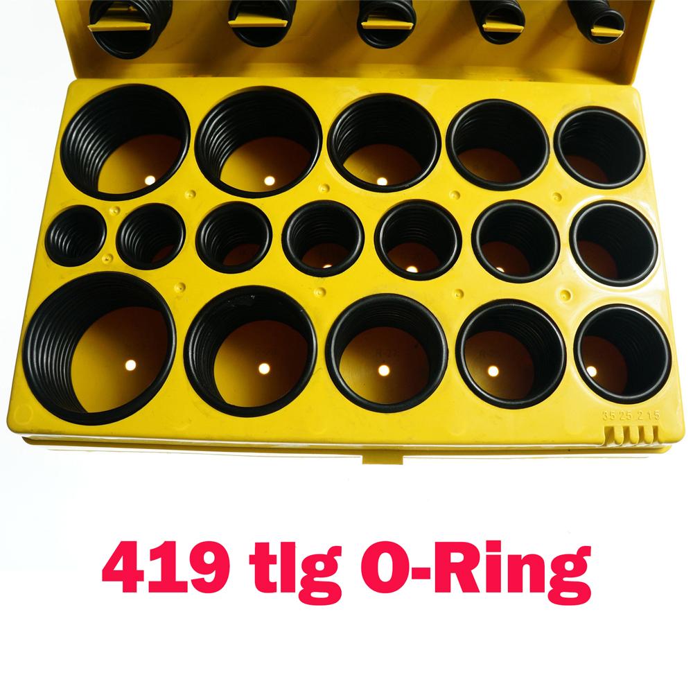 419x Universal O-Ring Assortment SetMetric Kit Automotive Seal Rubber Gasket