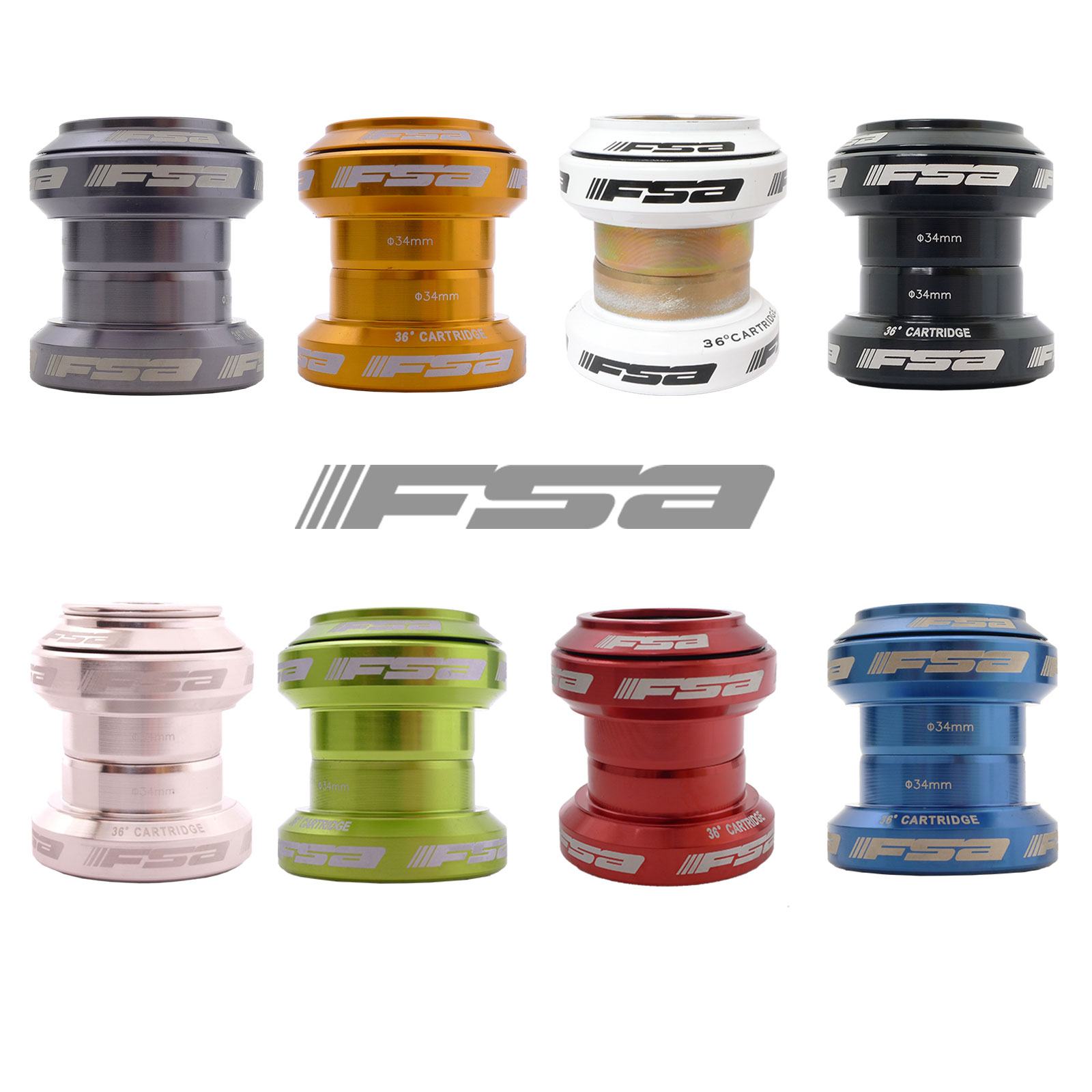 FSA ORBIT MX Threadless Forged Processed By Aluminum Alloy Lower Part 1 pc