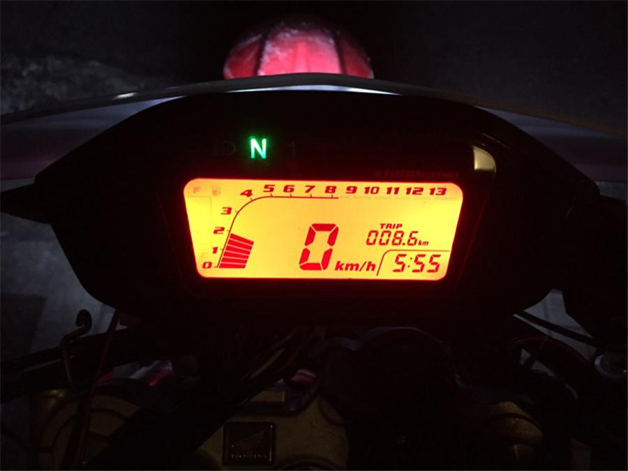 Universal Motorcycle Lcd Digital Speedometer Odometer